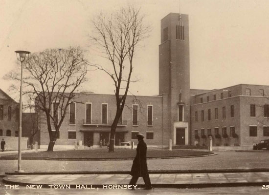 Hornsey Town Hall Tour - Past Present and Future