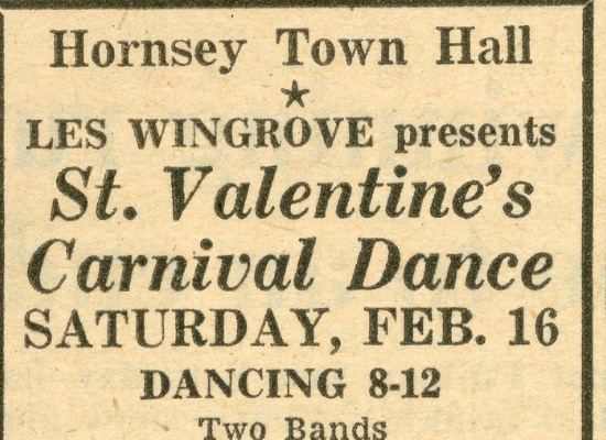 HJ 8 Feb 1963 Valentine dance